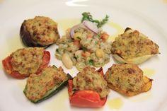 Ligurian stuffed vegetables