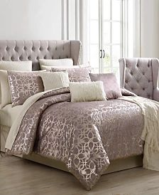 Donna Karan Home Moonscape Bedding Collection & Reviews - Bedding Collections - Bed & Bath - Macy's Queen Comforter Sets, Bedding Sets, Addison Park, Glam Bedding, Home Office Lighting, Bed In A Bag, Outdoor Lounge Furniture, Mattress Brands, Furniture For Small Spaces