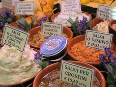 Mercato Centrale (Florence food market - San Lorenzo): From fresh produce to gourmet ingredients, the soaring cast iron frames of this market contain a treasure trove of Italian goodies.