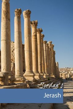 Jordan's northwest region has many interesting ruins that can be explored easily as a day trip from Amman.
