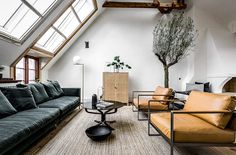 Kika in i Carl Larssons före detta ateljé | ELLE Decoration
