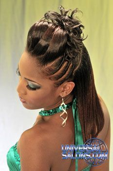 black womens hairstyles in the Black Hair Updo Hairstyles, Ethnic Hairstyles, American Hairstyles, Permed Hairstyles, Black Girls Hairstyles, Curly Hair Styles, Natural Hair Styles, Hair Due, Braids For Black Hair