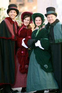 CeCe Productions - Holiday Carolers to greet Guests