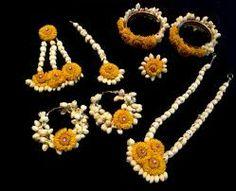 Flower jewellry