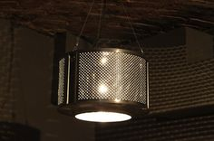 lamp from washing machine / lampka z bębna starej pralki