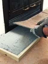 How to Reface a Fireplace Surround and Hearth   Granite slab ...