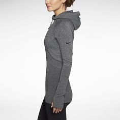 Nike Store. Nike Pro Hyperwarm Fitted Seamless Pullover Women's Hoodie.  Get in my closet