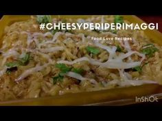 Cheesy Flavour with Peri Peri masala in Maggi enhances the taste by 10 times. Do try it yourself and experience the awesome taste. Love Food, Food To Make, Times, Chicken, Awesome, Recipes, Rezepte, Recipe