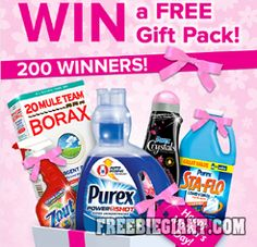 Free Gift Pack from Purex Sweepstakes-US ONLY - http://freebiegiant.com/free-gift-pack-from-purex-sweepstakes-us-only/
