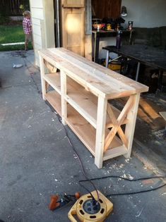 sofa tables 63 Our Beautiful Farmhouse Sofa Table – Farmhouse Room Your One Year-Old's Development T Western Furniture, Diy Pallet Furniture, Furniture Layout, Repurposed Furniture, Furniture Projects, Furniture Plans, Rustic Furniture, Furniture Making, Modern Furniture