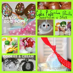 SusieQTpies Cafe: Cake Pops, Cake Balls and Pinterest Blog Hop