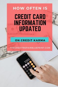 Do you use Credit Karma to monitor your credit score? If you do learn how often credit information is updated and more about your credit score #creditscore #creditreport #creditkarma