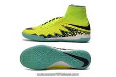 Nike Mens HypervenomX Proximo IC High Top Football Boots Indoor Soccer Shoes Yellow Green $75.00
