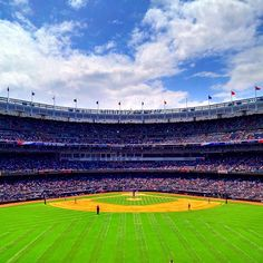A gorgeous day for baseball in the Bronx  - @Jeffrey P