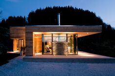 Modern Cabin GJ-9 is located in Bjergøy, Norway, and was constructed by Gudmundur Jonsson Architect.