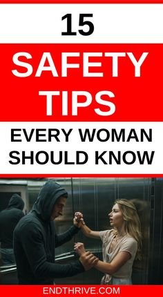 What are the best safety tips for women? Here are 15 personal safety tips that every woman needs to be aware of. Protect yourself first. Tornado Safety Tips, Earthquake Safety Tips, Fire Safety Tips, Food Safety, Kitchen Safety Tips, Traveling Alone Women, Summer Safety Tips, Halloween Safety Tips, Workplace Safety Tips