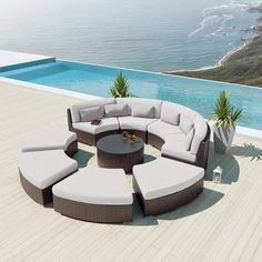 Gallery Of Curved Outdoor Sofa