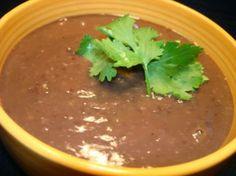 (Panera Bread) Black Bean Soup
