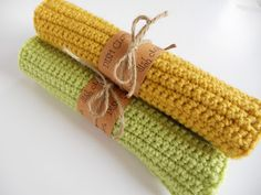 Just Another Hang Up: Crocheted Dishcloths