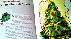colora il silenzio: testimonianza di un albero di Natale