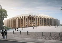 The new Bordeaux stadium appears light and open; it is elegant, if such a term can be used for a building of this size. Its purity and geometrical clarity in...