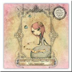 Papeles Scrapbooking - Mirabelle II Santoro (15x15)