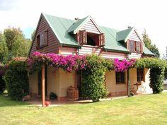 Rammed earth eco cottage, Te Awamutu