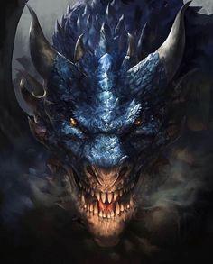 dragons monsters Beautiful pictures of dragons Dragon art and drawings Dark Fantasy Art, Fantasy Artwork, Fantasy Kunst, Daily Fantasy, Fantasy Love, Tiamat Dragon, Photo Dragon, Dragon Face, Dragon Head