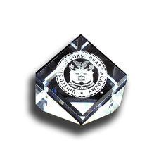 Coast Guard Academy Crest Paperweight