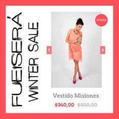Vestido Misiones  www.fueisera.mitiendanube.com #TiendaOnline #MiTiendaNube #WinterSale #Fueiserá #Sale