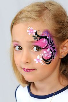 sparkling faces face painting - Google Search
