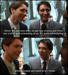 fred and george weasley funny quotes | harry potter # james and oliver phelps # funny