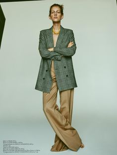 CAROLIN SÜNDERHAUF FOR EUROWOMAN NOVEMBER 2016   Munich Models Blog
