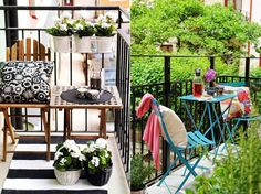 The Lemon Pear - small balconies decor