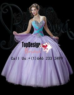 Wholesale 2016 new sweet 15 ball gown lilac and turquoise tulle quinceanera dress with beading and rhinestones BS-1518 http://www.topdesignbridal.net/wholesale-2016-new-sweet-15-ball-gown-lilac-and-turquoise-tulle-quinceanera-dress-with-beading-and-rhinestones-bs-1518_p4236.html