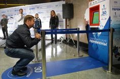 Citizens in Moscow can pay for their subway tickets by performing various exercises.