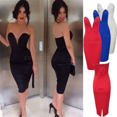 bodycon evening dresses 2015 | 2015-Women-Celeb-Sexy-Bandage-Bodycon-Backless-Club-Party-Evening ...