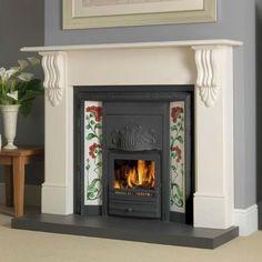 Cast iron Edwardian fireplace Oxford Fuel Integra