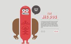 Big Apple Hot Dogs, on siteInspire: a showcase of the best web design inspiration. Food Branding, Restaurant Branding, Parallax Website, Best Web Design, Dog Wedding, Interactive Design, Dog Accessories, Big Dogs, Graphic Design Inspiration