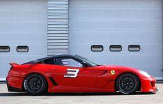 The Ferrari 599XX