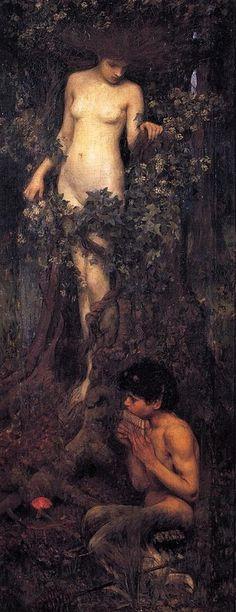 A Hamadryad by John William Waterhouse