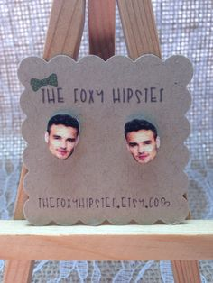 Liam Payne Stud Earrings,  gift idea, cool jewelry, unique, One Direction, Harry Styles,Niall Horan,Birthday Gift, christmas idea, teen girl by TheFoxyHipster on Etsy https://www.etsy.com/listing/216361315/liam-payne-stud-earrings-gift-idea-cool