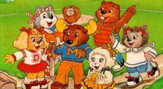 nossa turma desenho animado dos anos 80