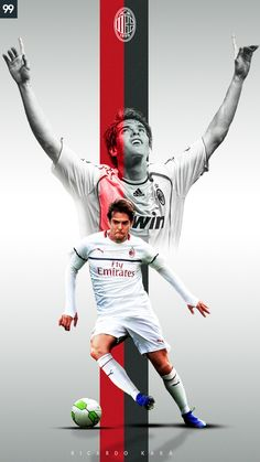 Football Fever, Football Gif, Ricardo Kaka, Milan Wallpaper, Soccer Backgrounds, Cristiano Ronaldo Wallpapers, Soccer Poster, Sports Graphics, Football Wallpaper