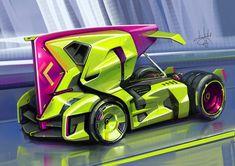Car Design Sketch, Truck Design, Car Sketch, Future Trucks, Future Car, Future Concept Cars, Street Racing Cars, Bike Engine, Tecno