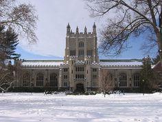 Frederick Ferris Thompson Memorial Library, Vassar College, Poughkeepsie, New York, USA.