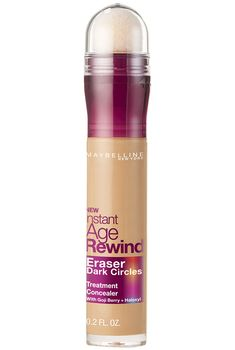 Instant Age Rewind Eraser Dark Circles Concealer + Treatment by Maybelline. Erase the appearance of dark circles and fine lines for a more radiant eye area.