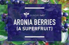 Aronia berries are certainly an up-and-coming star in the world of superfruits. Studies have shown that aronia berries have potential health benefits.
