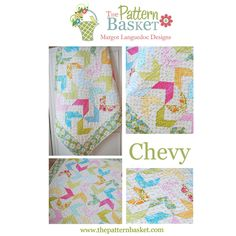 The Pattern Basket CHEVY Quilt Pattern #ThePatternBasket
