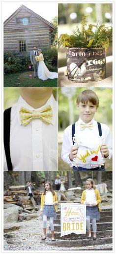 North Carolina Mountain wedding   http://www.100layercake.com/blog/2012/01/30/north-carolina-mountain-wedding-morgan-david/